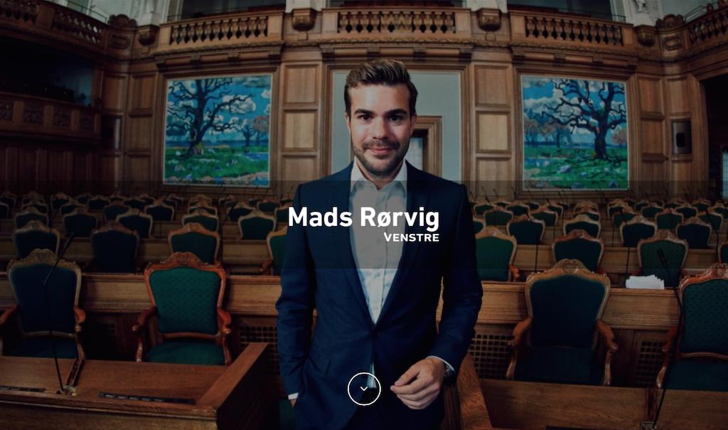 Madsrorvig.dk forside